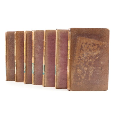 "1837-1838 ""Memoirs of the Life of Sir Walter Scott, Bart."", Seven Volumes"
