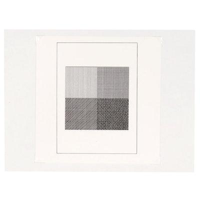 """Sol LeWitt Silkscreen for """"Ficciones"""", 1984"""