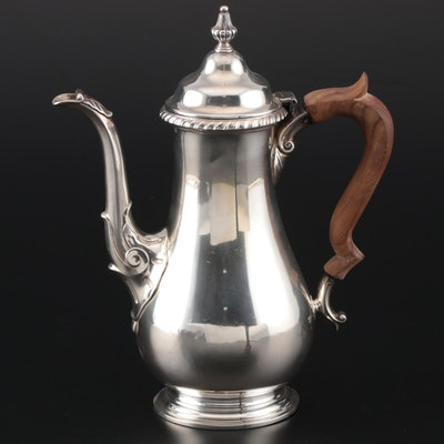 "Gorham ""Kensington"" Sterling Mini Coffee Pot, 1944"