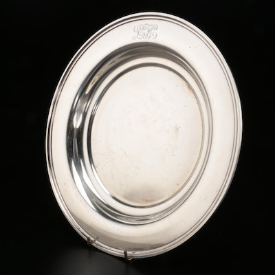 S. Kirk & Son Sterling Silver Low Vegetable Serving Bowl, Mid-20th Century