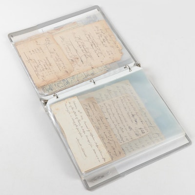 Promissory Notes, Indentures, Ledgers, Receipts, and Other Ephemera