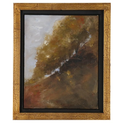 Kym Kuening Abstract Landscape Oil Painting