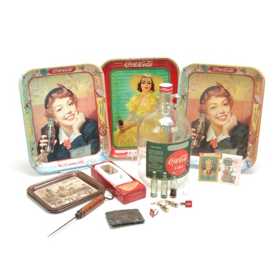 Coca-Cola Tin Litho and Advertising
