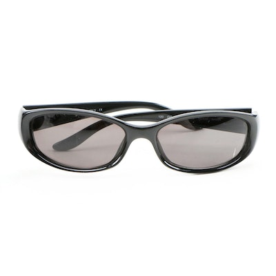 Gucci GG 2456/S Black Rectangular Frame Sunglasses with Case