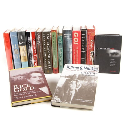 "First Printing ""Licensed to Spy"" with Other Signed and First Edition Biographies"