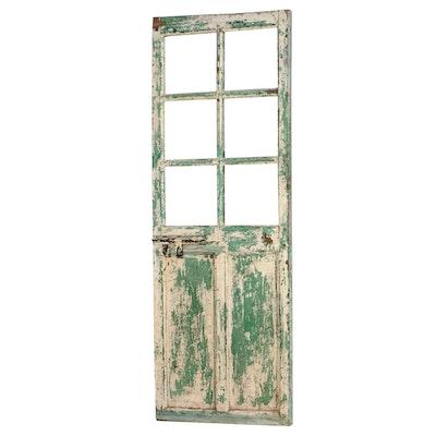 Painted Mirrored Panel Door