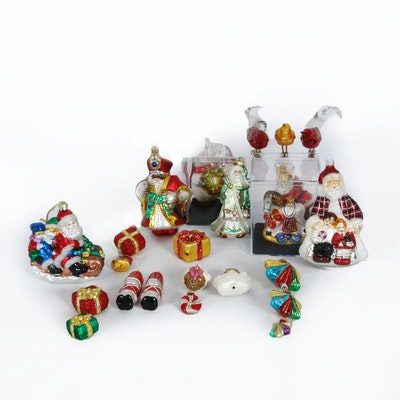 Handcrafted Glass Holiday Ornaments