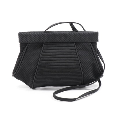 Salvatore Ferragamo Black Evening Bag