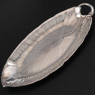 International Silver Sterling Bread Tray, Early 20th Century