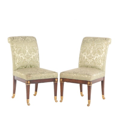 Ritz-Carlton New York, Pair of Neoclassical Side Chairs