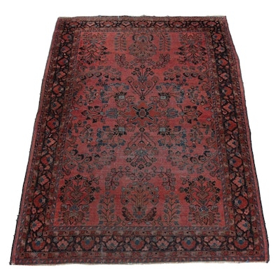 4'3 x 6'5 Hand-Knotted Persian Rug