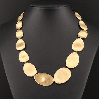 "Marco Bicego ""Lunaria"" 18K Yellow Gold Necklace"