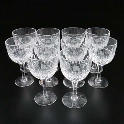 "Stuart Crystal ""Clifton Park"" Claret Wine Glasses, 1955–1984"