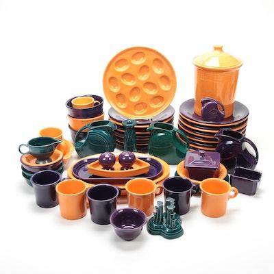 Homer Laughlin Fiestaware Serveware, Dinnerware and Table Accessories