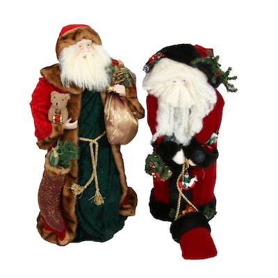Handcrafted Santa Claus Décor