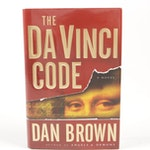 """Dan Brown Signed First Edition, First Printing """"The Da Vinci Code"""", 2003"""