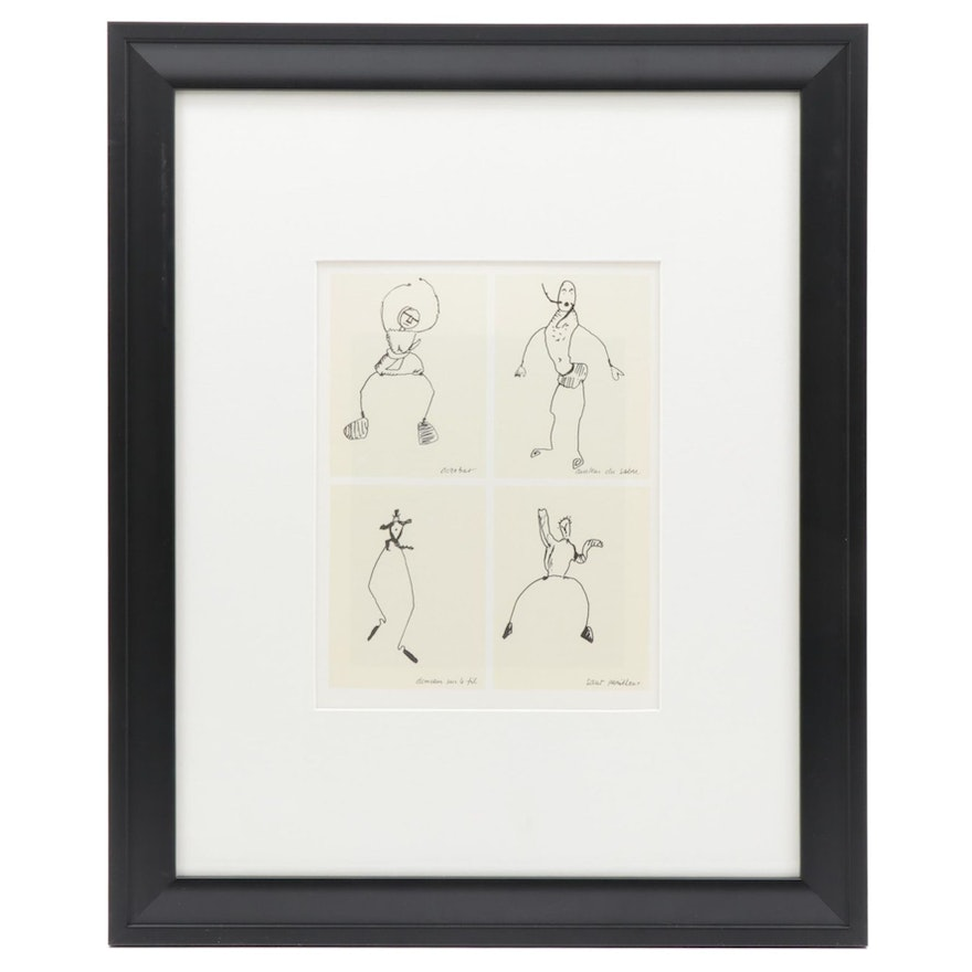 """Lithographs After Alexander Calder """"Le Cirque"""" Series for Galerie Adrien Maeght"""