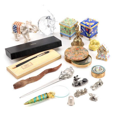 Trinket Boxes, Figurines, Desk Accessories, and More