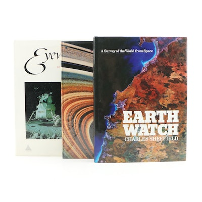 "Space Reference Books Including ""Eyewitness to Space"" by Hereward Lester Cooke"