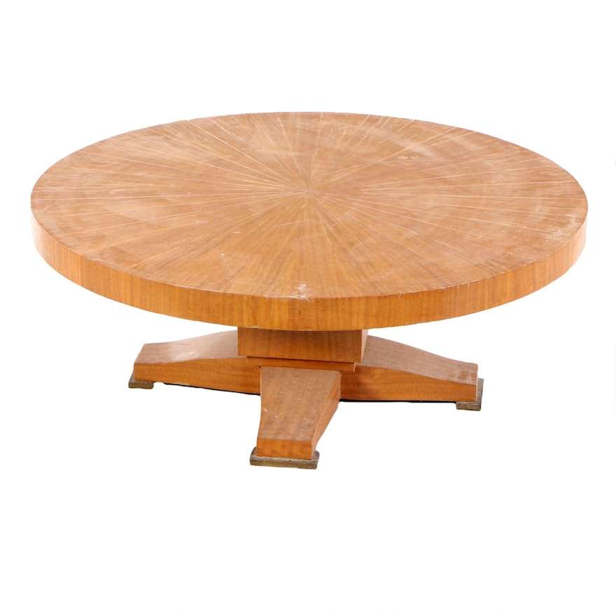 Hand-Crafted Joshua Friedman & Co. Coffee Table, Mid to Late 20th Century