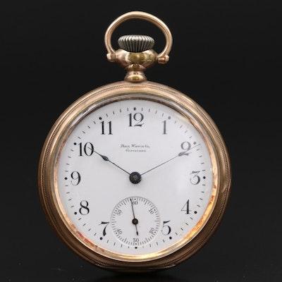 Ball Gold Filled Pocket Watch, 1901