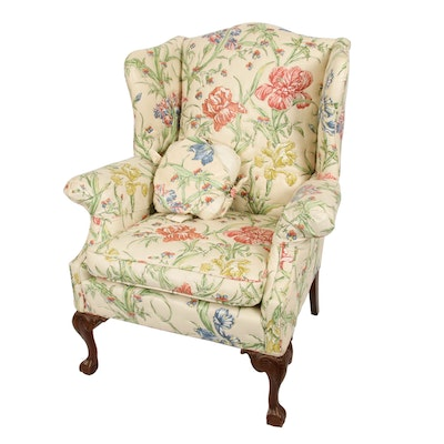 Berkeley Upholstering Co. Wing-Back Armchair