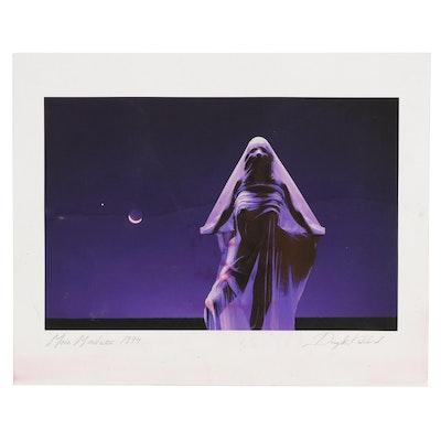 "Douglas Kirkland Serigraph ""Moon Madness"", 1994"