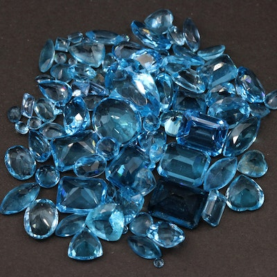 Loose 103.44 CTW Topaz Gemstones