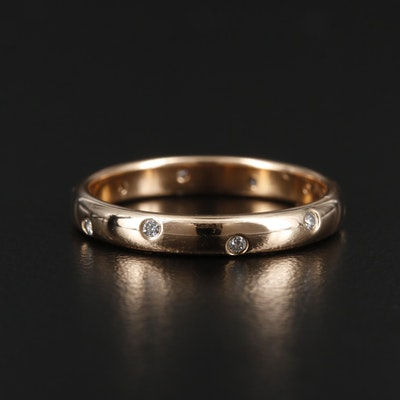 "Tiffany & Co. ""Etoile"" 18K Yellow Gold Diamond Band"