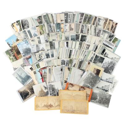 Postcards of Buildings and Landmarks of Marshall, Michigan
