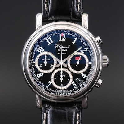Chopard Mille Miglia Chronograph Stainless Steel Automatic Wristwatch