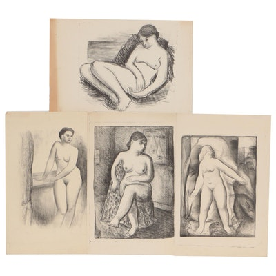 Thomas Brownell Eldred Figural Lithographs