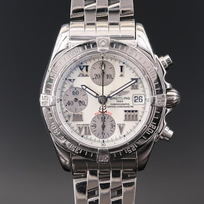 Breitling Chrono Cockpit Stainless Steel Automatic Wristwatch, 2006