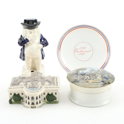 Hurley White House Porcelain Trinket Box and other Decor