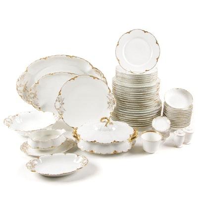 """Haviland Limoges """"Ranson"""" Porcelain Dinner and Serveware"""