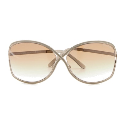 Tom Ford TF179 Rickie Crisscross Sunglasses with Case
