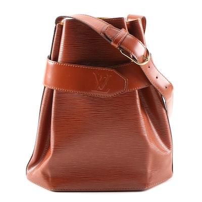 Louis Vuitton Sac d'Epaule in Cipango Gold Epi Leather