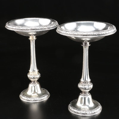 Gorham Sterling Silver Centerpiece Compotes, Mid-20th Century