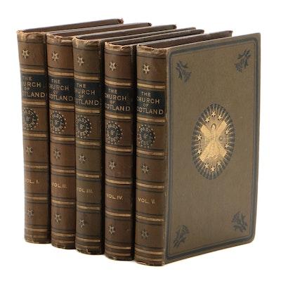 """The Church of Scotland"" Five Volume Set, Late 19th Century"