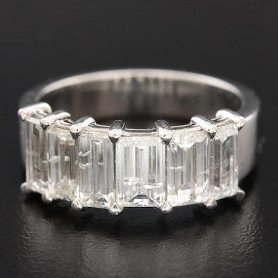 Platinum 2.77 CTW Diamond Ring