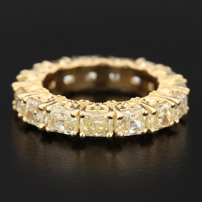 18K 5.12 CTW Diamond Eternity Band