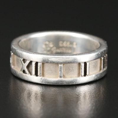 Tiffany & Co. Sterling Silver Atlas Ring