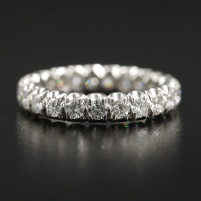 Platinum 1.15 CTW Diamond Eternity Band