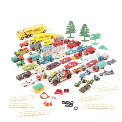 """Matchbox, Corgi, and Tonka Toy Cars and Vehicles with """"Chitty Chitty Bang Bang"""""""