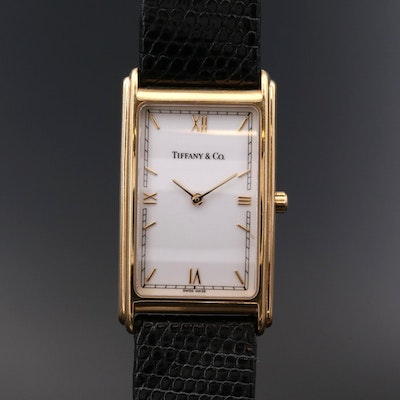 Tiffany & Co. 18K Gold Quartz Wristwatch