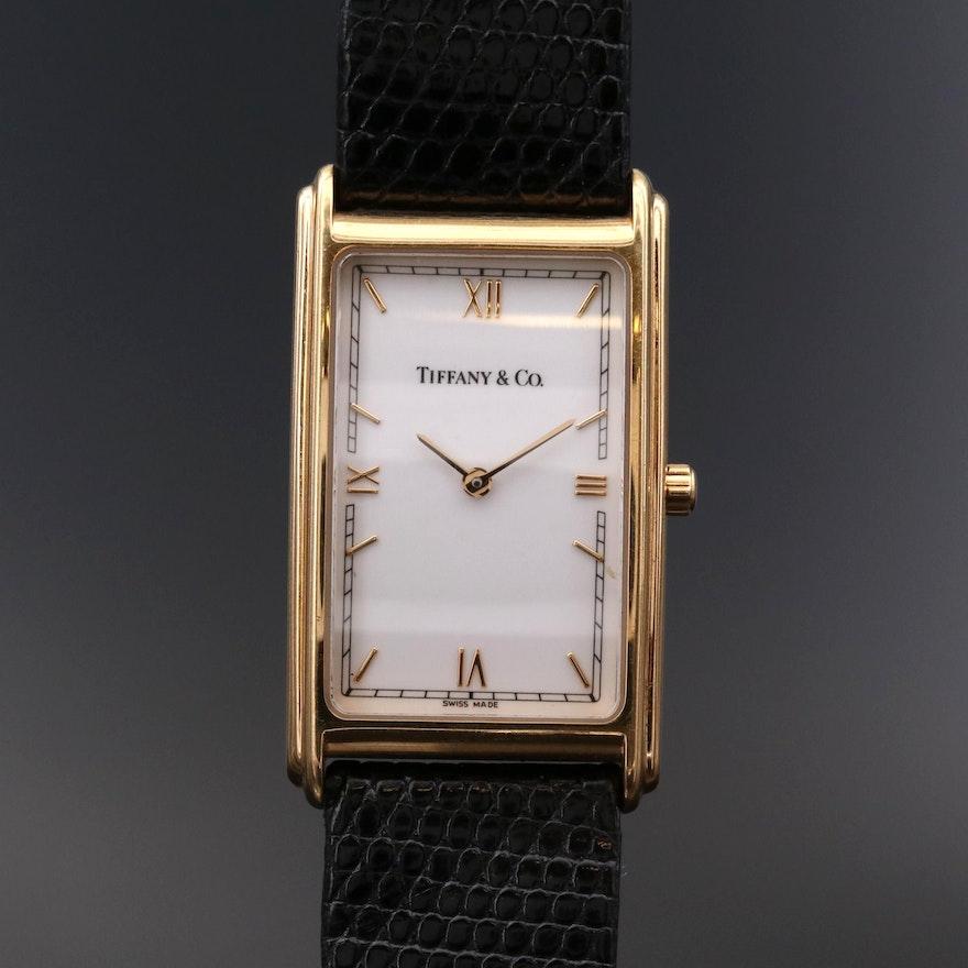 Tiffany & Co. 18K Gold Quartz Wristwatch