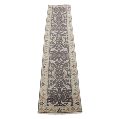 2'6 x 12'2 Hand-Knotted Indo-Persian Tabriz Runner
