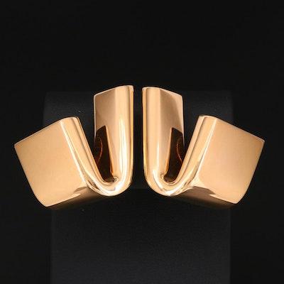 Vhernier Diapason 18K Gold Earrings