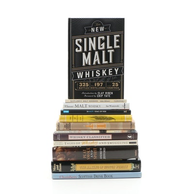 """First Edition """"The New Single Malt Whisky"""" and More Malt Whiskys Books"""
