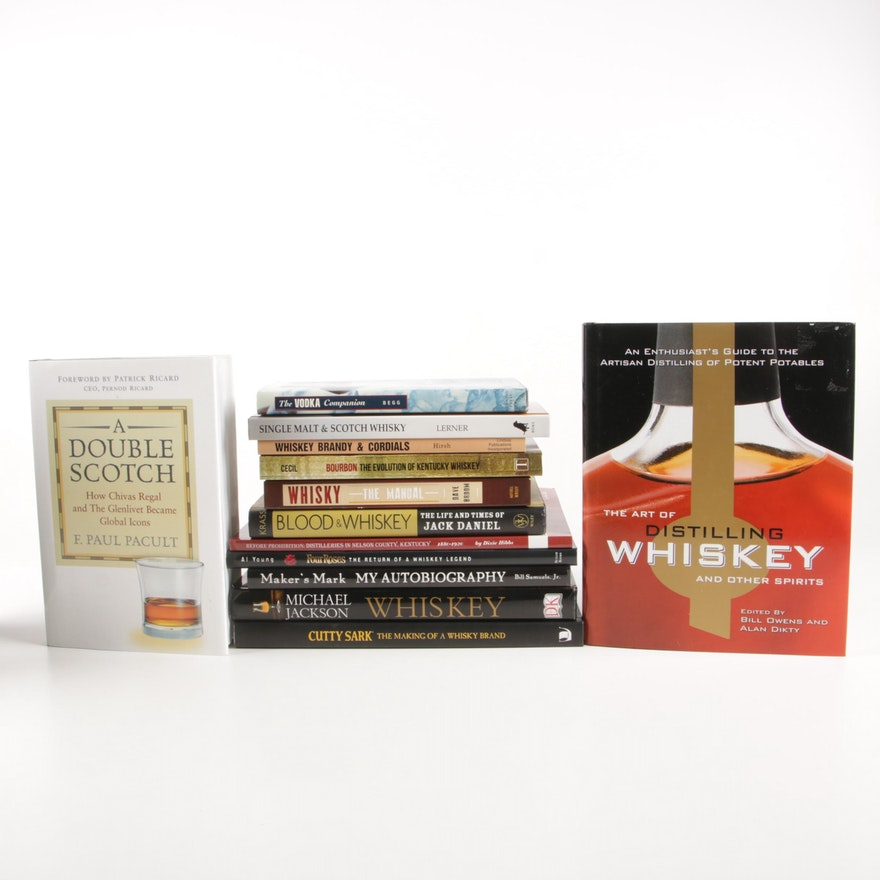 "First Edition ""Art of Distilling Whiskey and Other Spirits"" with More Volumes"